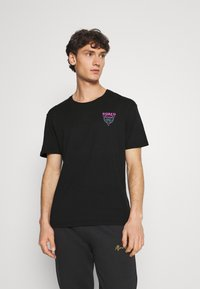 YOURTURN - UNISEX - T-shirt z nadrukiem - black - 2