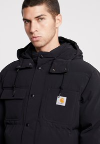 Carhartt WIP - ALPINE COAT - Winter jacket - black / hamilton brown - 4