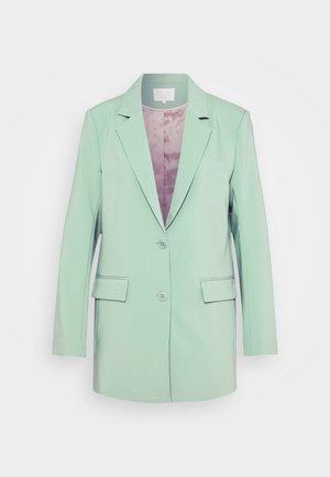 Pitkä takki - granite green