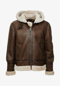 Schott - Leather jacket - brown - 5