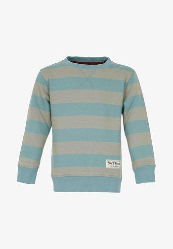 BAND OF RASCALS SWEAT STRIPED - Sweatshirt - arctic-blue-moos