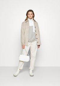 Monki - FOO  - Fleece jumper - grey - 1