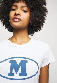 M Missoni - Print T-shirt - white - 3