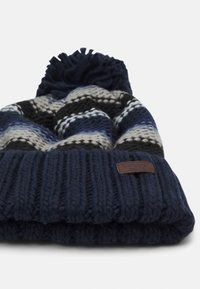 Barbour - HARROW STRIPE BEANIE - Beanie - grey/blue - 3