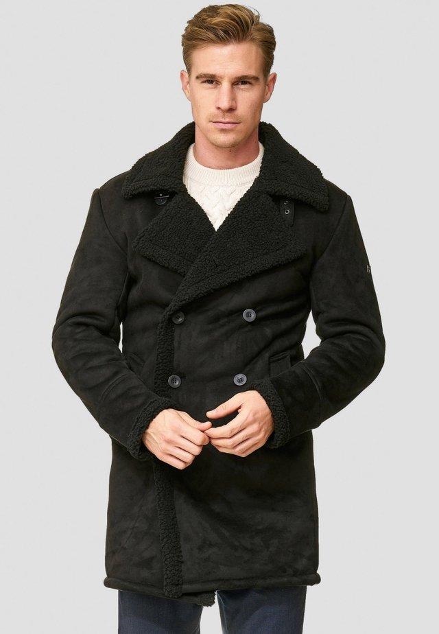 BARLOW - Cappotto invernale - black