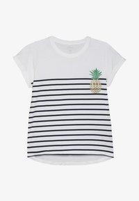 Name it - NKFJPINAPPLE - T-shirts print - bright white/dark sapphire - 2