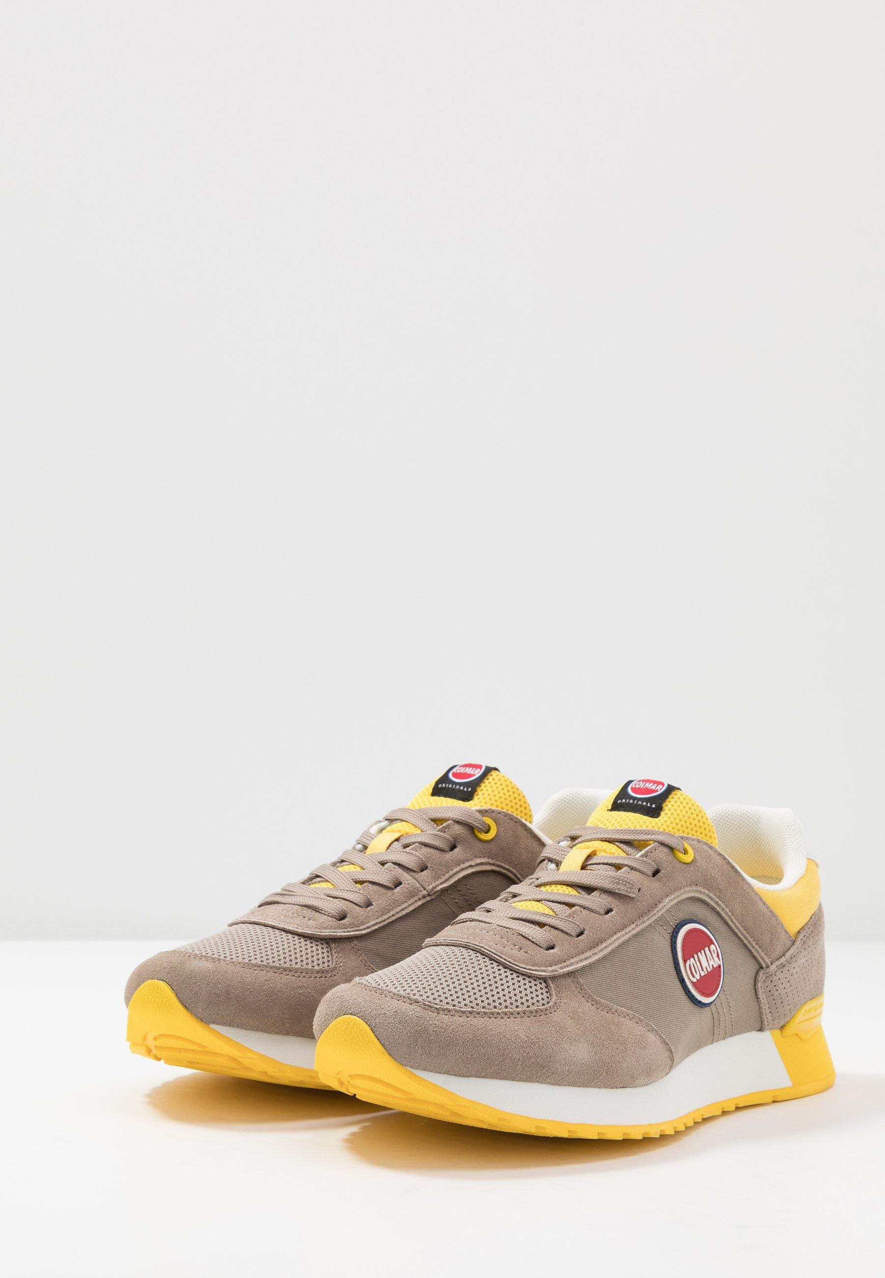 Colmar Originals TRAVIS Sneakers warm grey/yellow