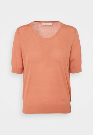 Basic T-shirt - dark minuet rose