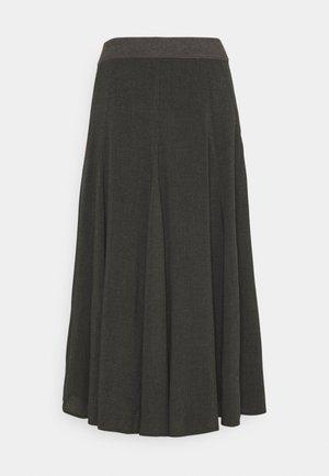 ROCK - A-line skirt - slate
