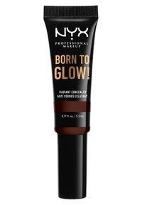 Nyx Professional Makeup - BORN TO GLOW RADIANT CONCEALER - Concealer - 24 deep espresso - 1