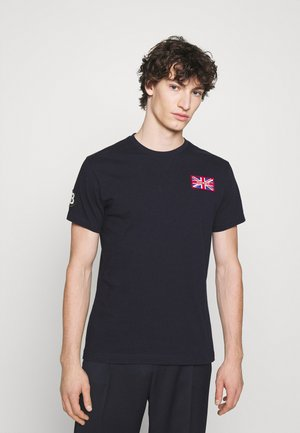 BADGE TEE - T-shirt print - navy