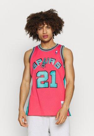 NBA SAN ANTONIE SPURS RELOAD SWINGMAN TIM DUNCAN - Club wear - pink