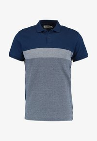 Pier One - Polo shirt - dark blue/mottled grey - 4