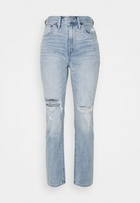 Madewell - RIPPED - Jeansy Relaxed Fit - calabria - 0
