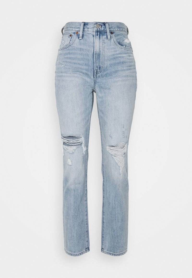 Madewell - RIPPED - Jeansy Relaxed Fit - calabria