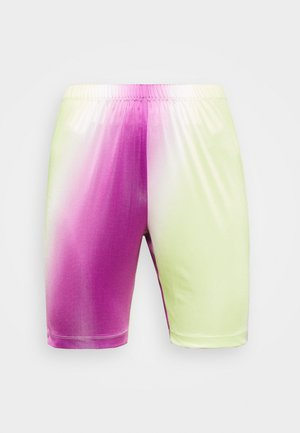 CISALO - Szorty - purple/green
