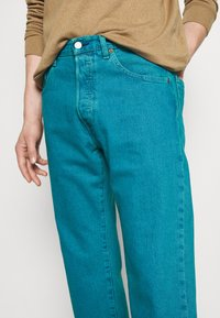 Levi's® - 501® BIRTHDAY '93 STRAIGHT - Jean droit - blue eyes turquoise - 3