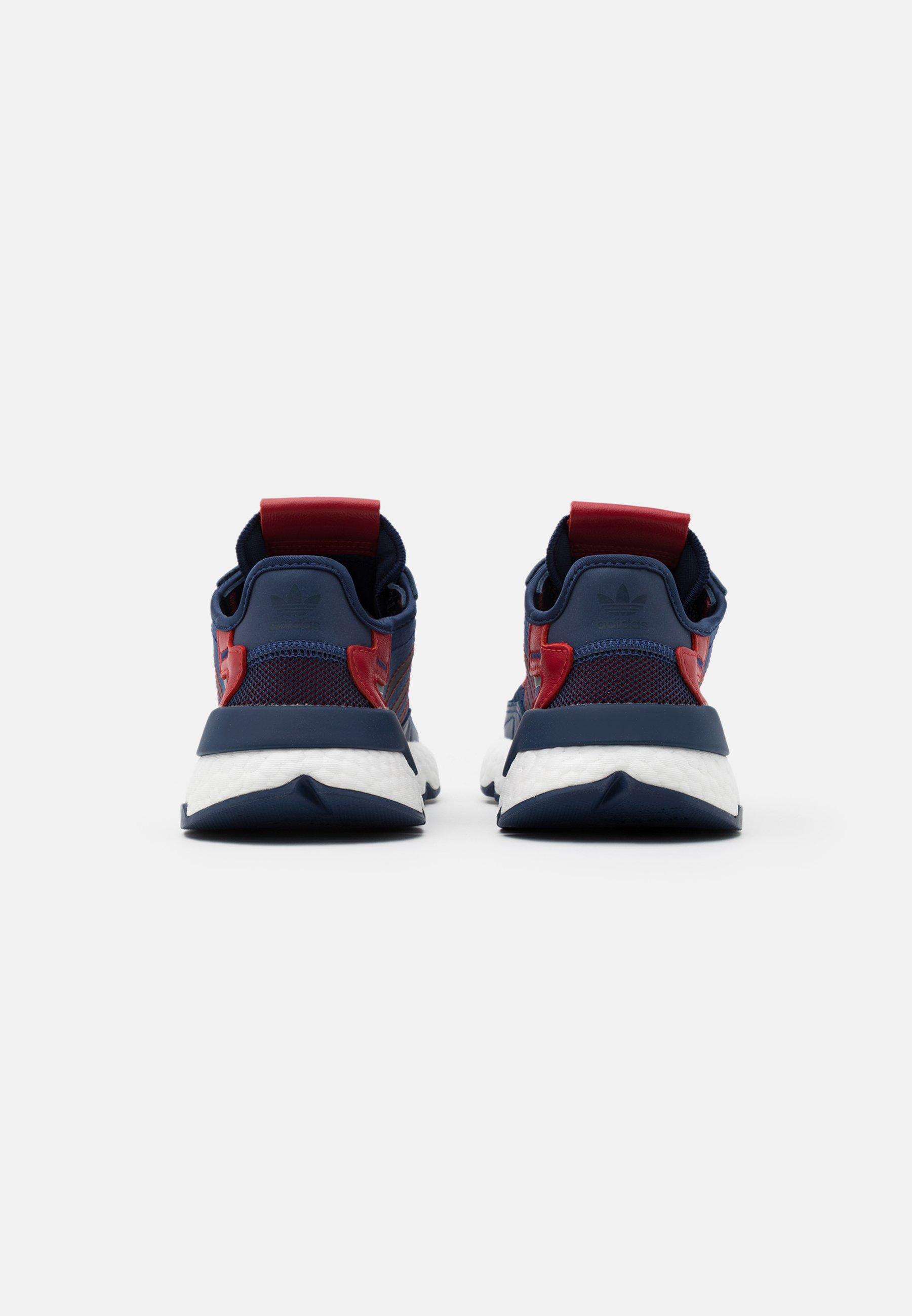 adidas Originals NITE JOGGER BOOST SPORTS INSPIRED SHOES - Sneaker low - tech indigo/collegiate navy/scarlet/dunkelblau - Herrenschuhe UUVMR