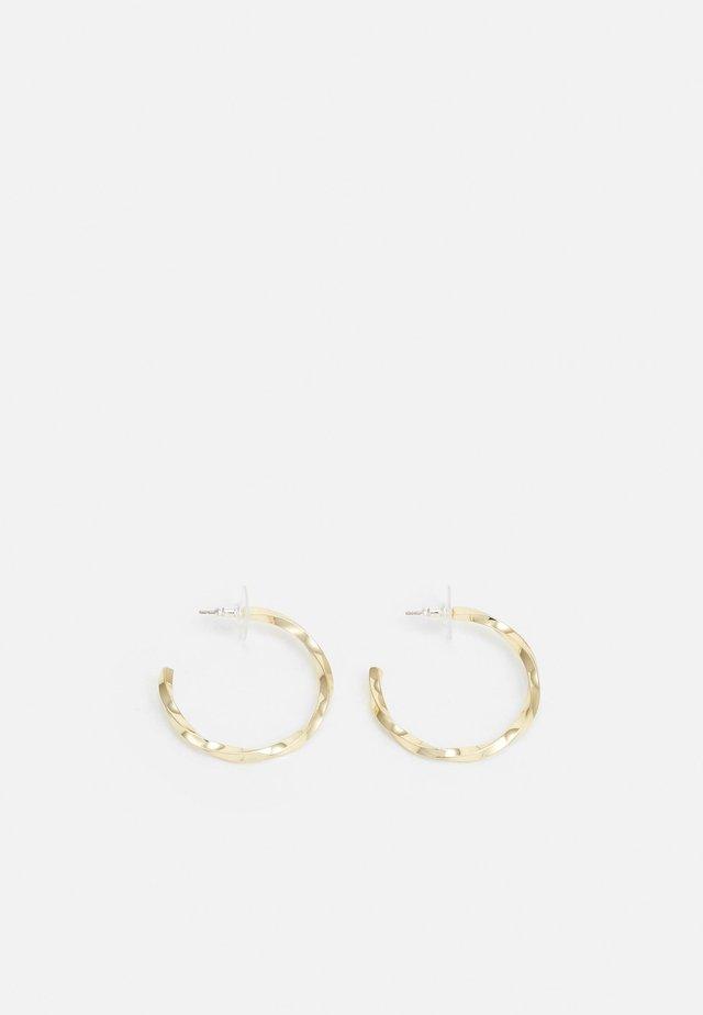 TROPEZ OVAL EAR - Orecchini - gold-coloured