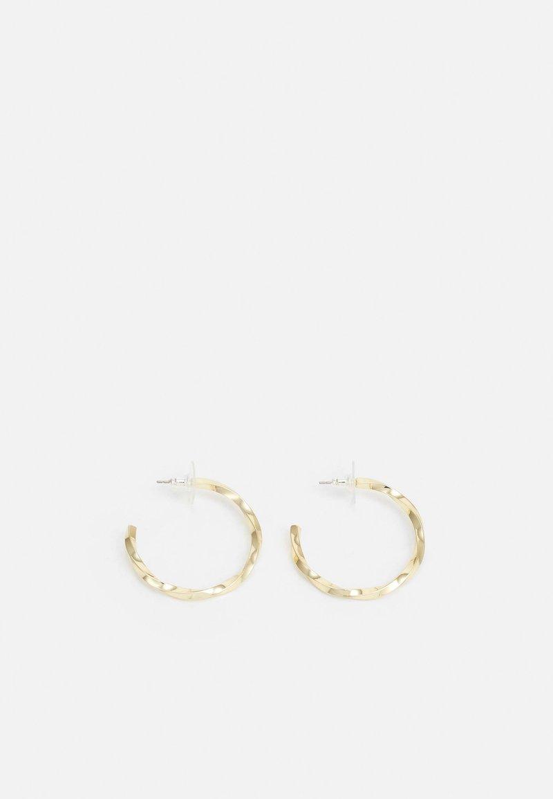 SNÖ of Sweden - TROPEZ OVAL EAR - Earrings - gold-coloured