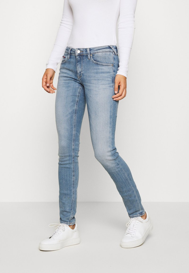 Tommy Jeans - SOPHIE - Jeansy Skinny Fit - razel light blue