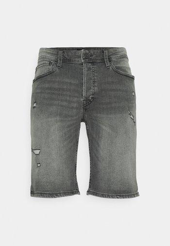 JJIRICK JJORIGINAL - Jeansshort - grey denim