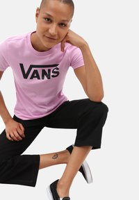 Vans - FLYING  - T-shirt print - orchid - 1