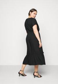 MY TRUE ME TOM TAILOR - DOBBY DRESS - Day dress - deep black - 2