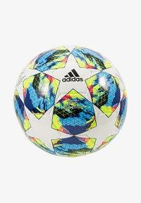 adidas Performance - FINALE COMP - Piłka do piłki nożnej - white/syello - 2