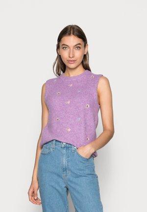 FREDRIKA EMBROIDERY - Jumper - violet tulle melange