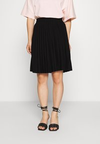 Selected Femme Petite - SLFALEXIS SHORT SKIRT - A-line skirt - black - 0