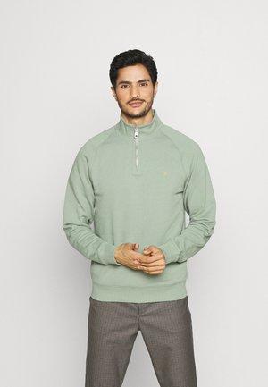 JIM ZIP - Sweatshirt - blue grey