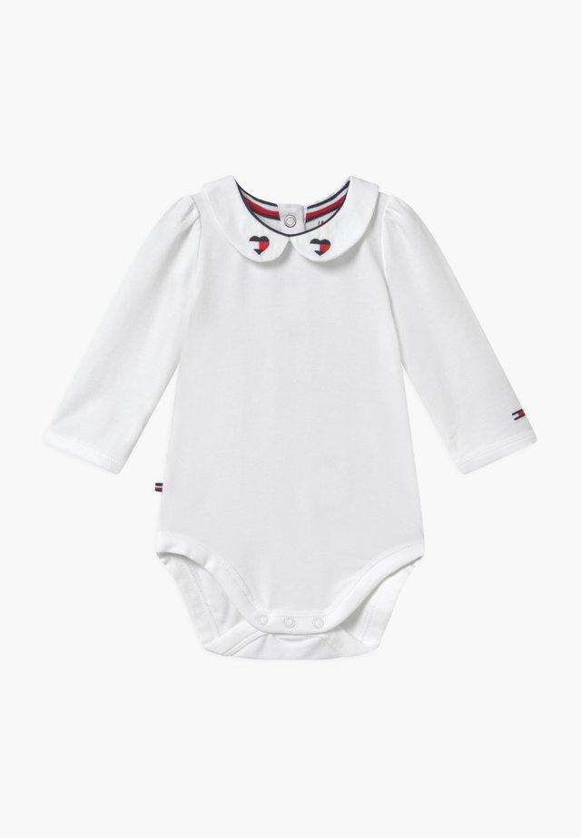BABY GIRL FANCY COLLAR - Body - white
