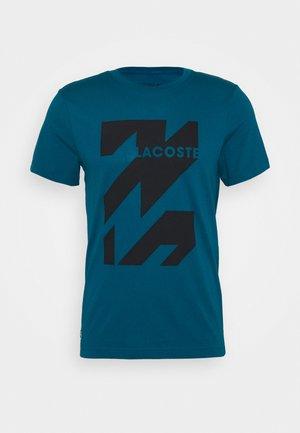 GRAPHIC - Print T-shirt - enluminure/noir