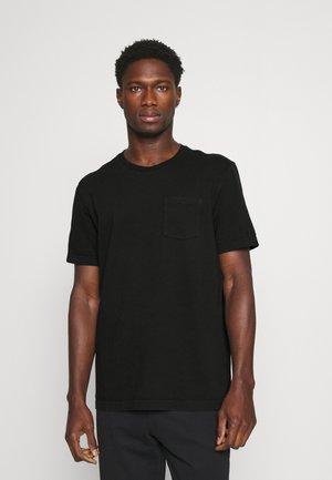 DYED SS CREW - Pyjama top - black