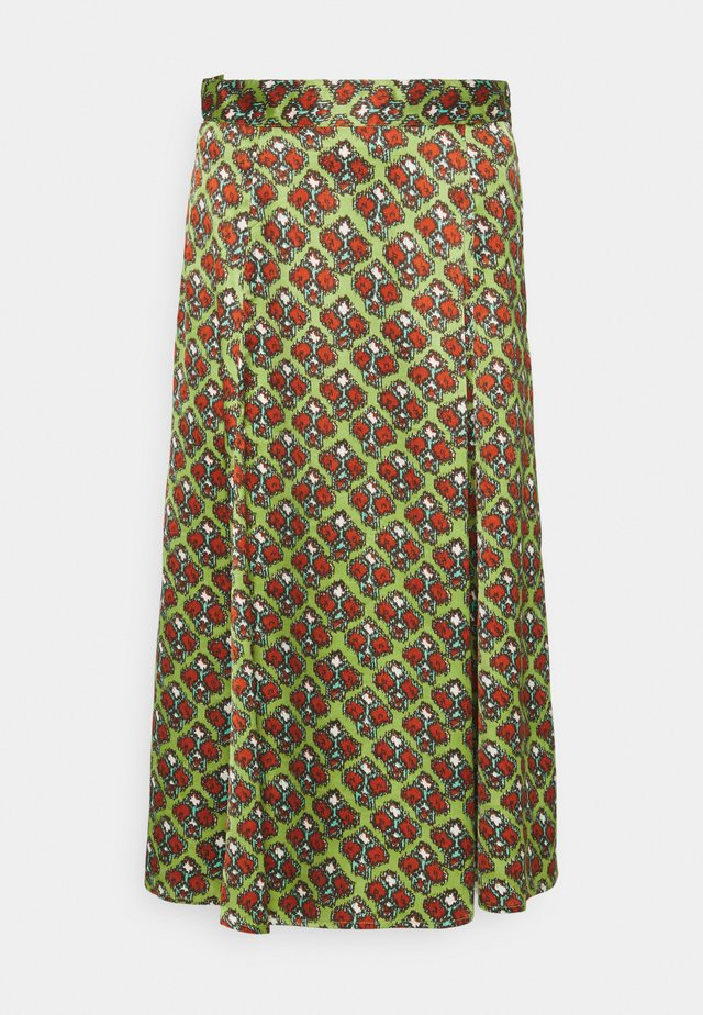 HABITAT - Áčková sukně - wasabi