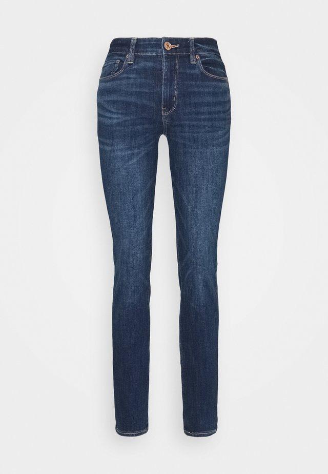 HI RISE - Jeans Skinny - deeply cobalt