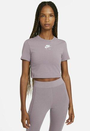 AIR - Print T-shirt - purple smoke/white