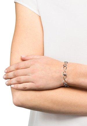 INFINITY  - Bracelet - silberfarben glanzmatt