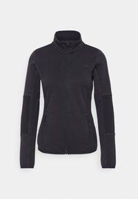 JETTA HIGH NECK JACKET - Fleece jacket - blue graphite