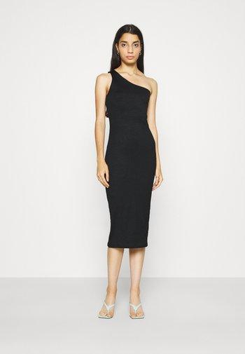 JOLINE ONE SHOULDER DRESS - Vestido ligero - black