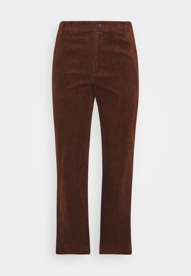 MISHA - Trousers - chocolate glaze