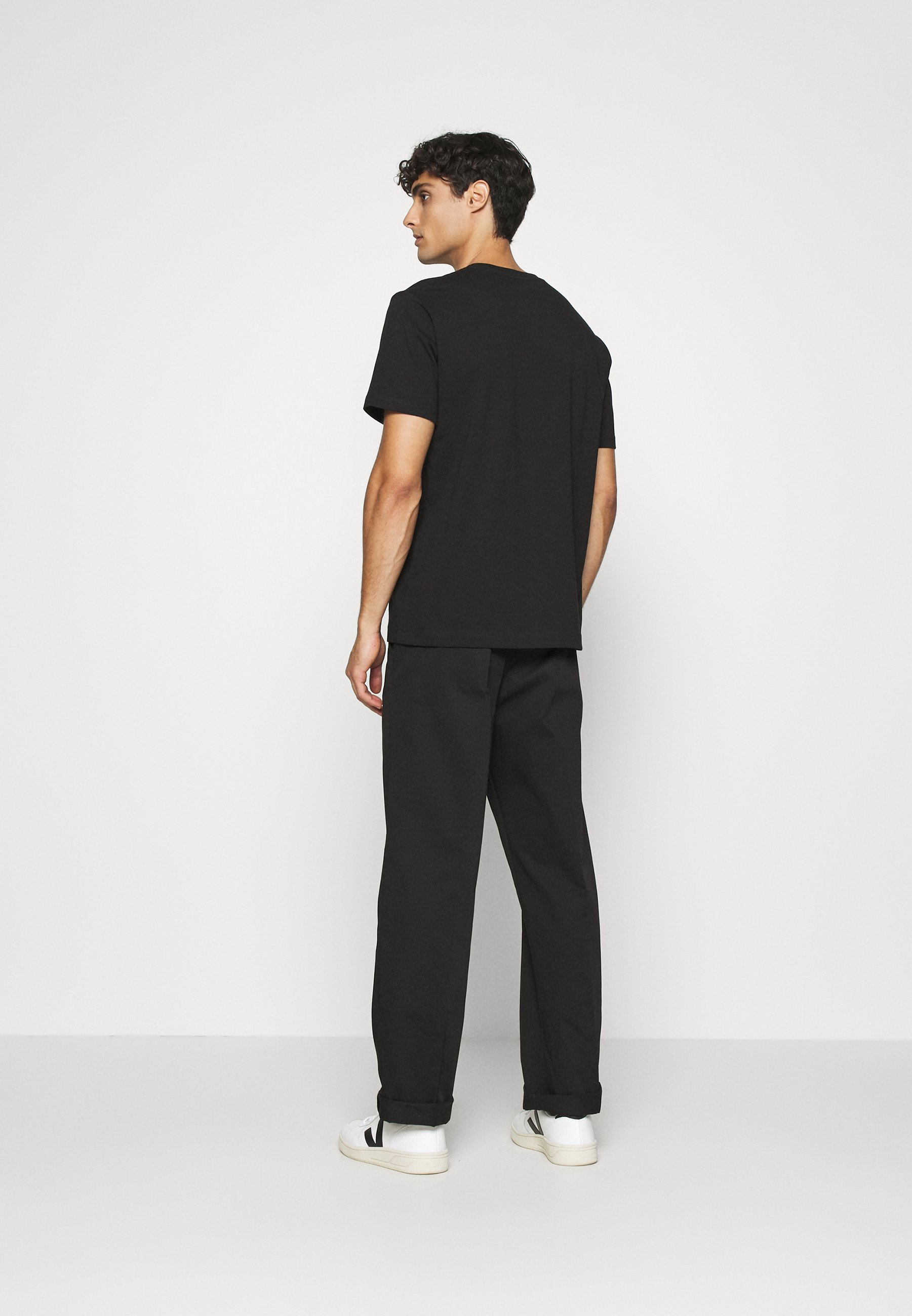 ARKET T-SHIRT - Basic T-shirt - black dark M3vdc