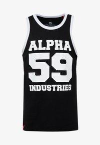 Alpha Industries - Top - black - 4