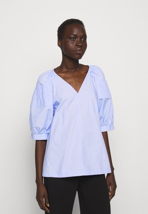 PUFF SLEEVE - Blouse - oxford blue