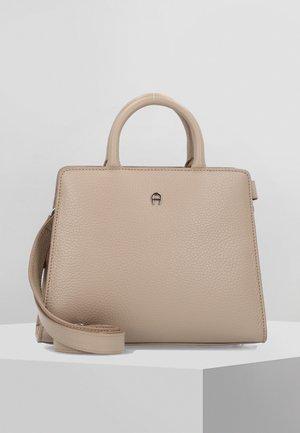 CYBILL HENKELTASCHE LEDER 24 CM - Handbag - taupe