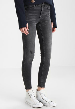 PCFIVE DELLY  - Skinny džíny - light grey denim