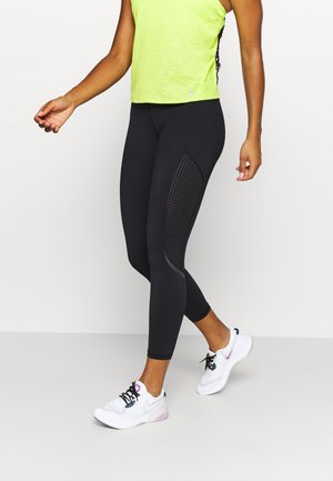 GRAVITY 7/8 RUNNING LEGGINGS - Punčochy - black