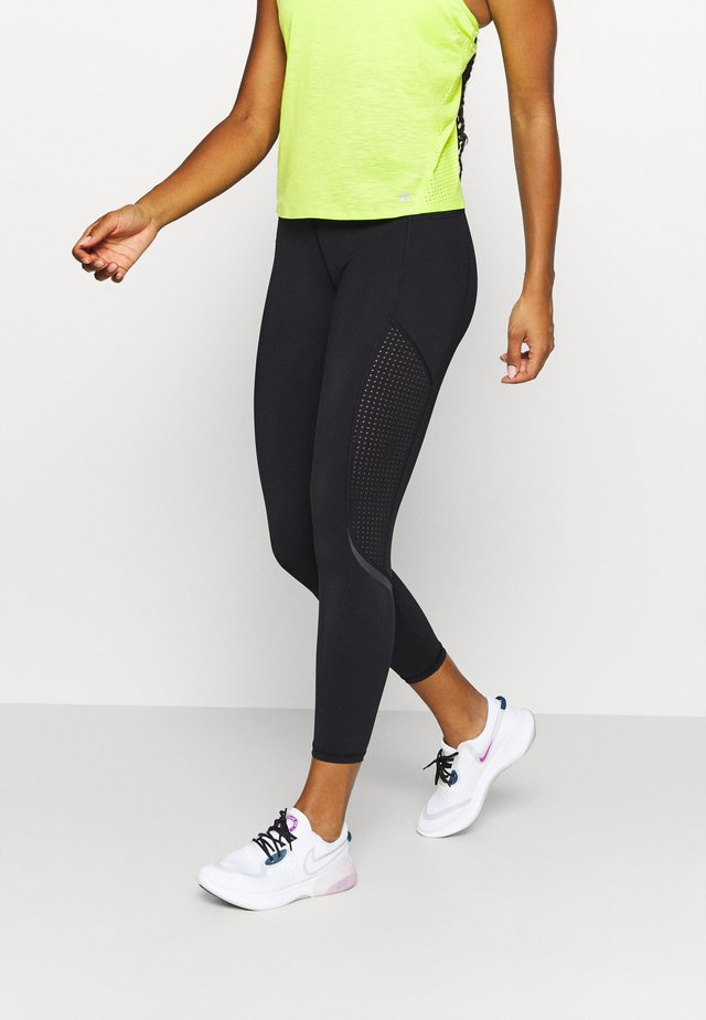 GRAVITY 7/8 RUNNING LEGGINGS - Tights - black