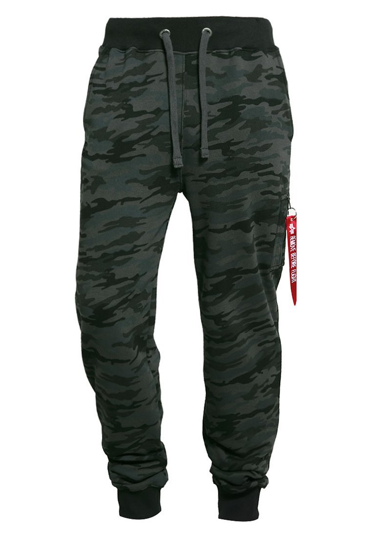 Alpha Industries X FIT PANT - Pantalon de survêtement - black